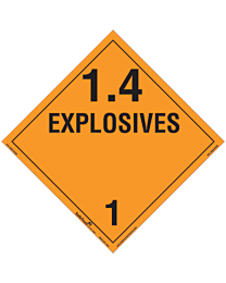 Explosives Class 1 Decal