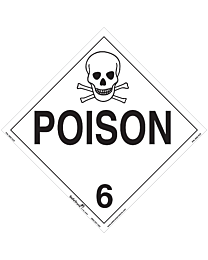 Poison Class 6 Decal