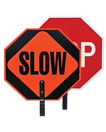 Stop/Slow Signs with Handle