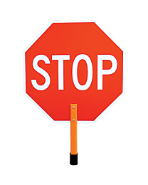 24 Inch Stop / Slow Reflective Sign
